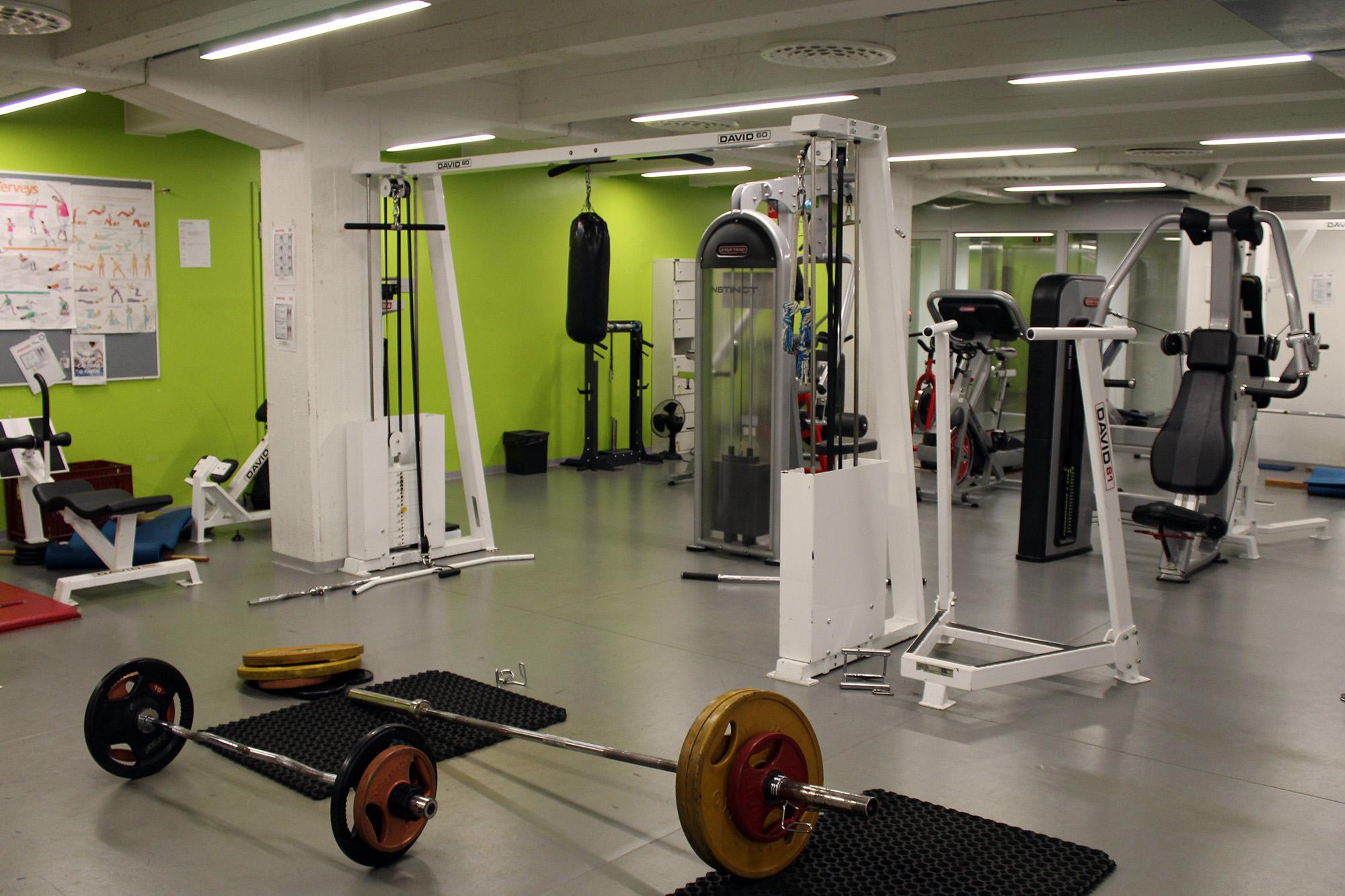 free gym turku